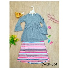 Baju Kurung Made By Cotton Tshirt - IDABK004
