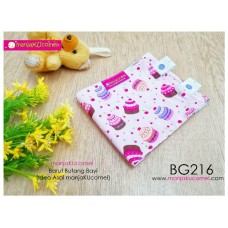 BG216-manjaKUcomel Barut Butang Bayi Bercorak