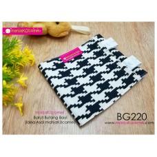 BG220-manjaKUcomel Barut Butang Bayi Bercorak
