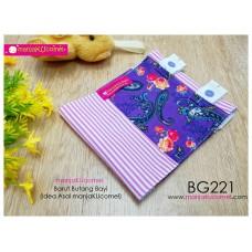 BG221-manjaKUcomel Barut Butang Bayi Bercorak