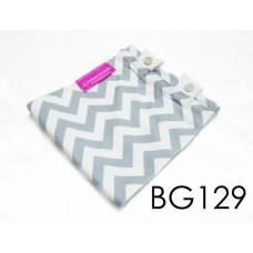 BG129-manjaKUcomel Barut Butang Bayi Bercorak