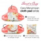 Cloth Pad – Triple Pantyliner Set + FREE Natural Feminine Wash Soap