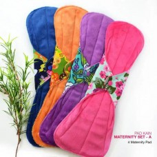 Cloth Pad - Maternity Set A + FREE Natural Feminine Wash Soap