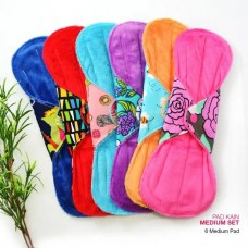 Cloth Pad - Medium Set + FREE Natural Feminine Wash Soap