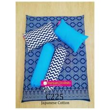 MANJAKUCOMEL Sarung Set Tilam Bayi - C225 (Super Quality Cotton/English Cotton)