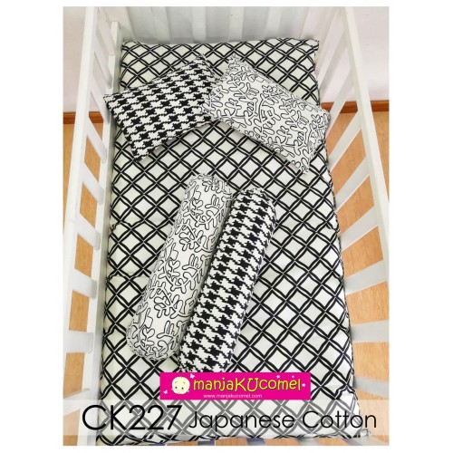 SALE! Sarung Set Tilam Katil Bayi - CK227 (Japanese Cotton)