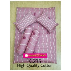 MANJAKUCOMEL Sarung Set Tilam Bayi - C215 (High Quality Cotton)