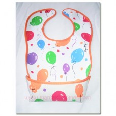 WATERPROOF BABY BIBS-BALLOON