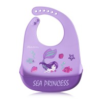 Autumnz Adjustable Soft Silicone Bib *Sea Princess*