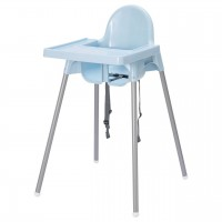 Ikea Baby Highchair Antilop with Tray BLUE