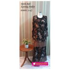 Kurung Moden Batik Bali Dewasa - BB001
