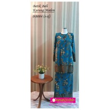 Kurung Moden Batik Bali Dewasa - BB004