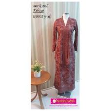 Kebaya Batik Bali Dewasa - KB002