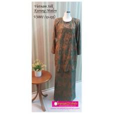 Kurung Moden Vietnam Silk Dewasa - VS001