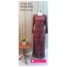 Kurung Moden Vietnam Silk Dewasa - VS002