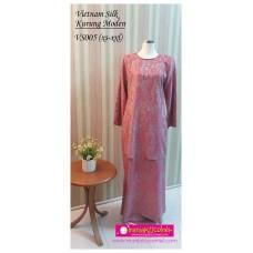 Kurung Moden Vietnam Silk Dewasa - VS005