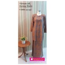 Kurung Moden Vietnam Silk Dewasa - VS006