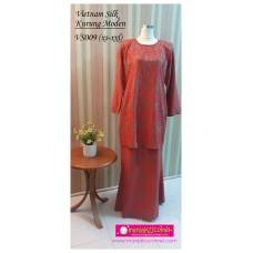 Kurung Moden Vietnam Silk Dewasa - VS009
