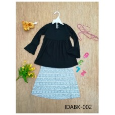 Baju Kurung Made By Cotton Tshirt - IDABK002