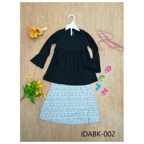 Baju Kurung Made By Cotton Tshirt - IDABK002