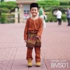 Baju Melayu Kain Tshirt (Teluk Belanga) Stripe - BMS01