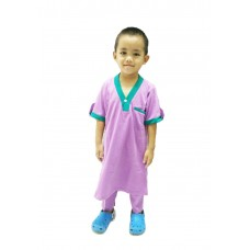 Baju Melayu Kurta (Cotton Tshirt) - 30 Radiant Orchid