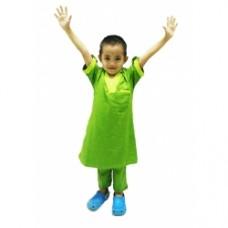 Baju Melayu Kurta (Cotton Tshirt) - 43 Olive