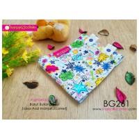 BG261-manjaKUcomel Barut Butang Bayi Bercorak