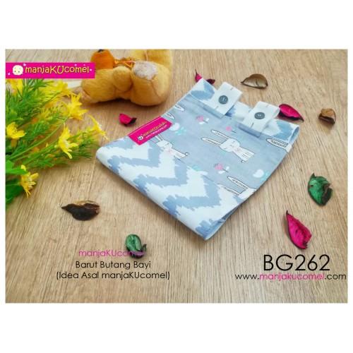 BG262-manjaKUcomel Barut Butang Bayi Bercorak