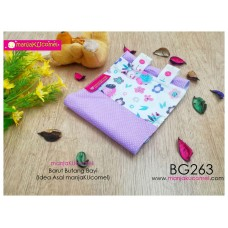 BG263-manjaKUcomel Barut Butang Bayi Bercorak