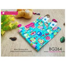 BG264-manjaKUcomel Barut Butang Bayi Bercorak