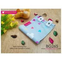 BG265-manjaKUcomel Barut Butang Bayi Bercorak