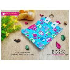 BG266-manjaKUcomel Barut Butang Bayi Bercorak