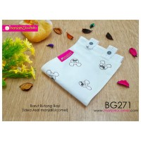 BG271-manjaKUcomel Barut Butang Bayi Bercorak