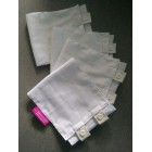Buy 4PCS - MANJAKUCOMEL Barut Butang Bayi Putih/Biru/Pink (SAVE RM2)