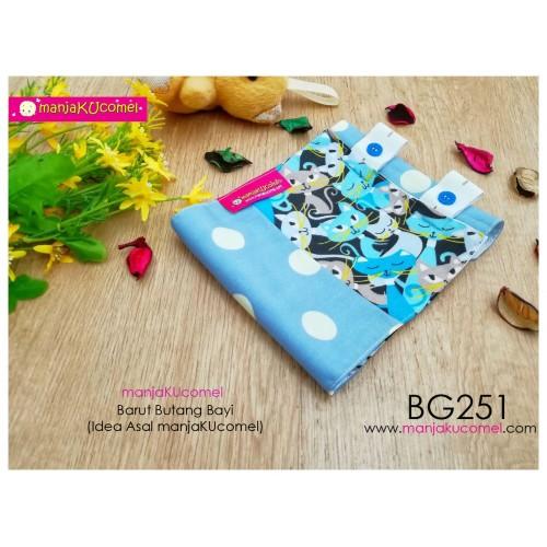 BG251-manjaKUcomel Barut Butang Bayi Bercorak