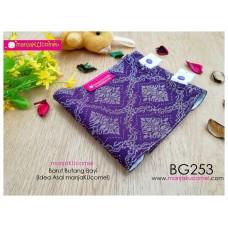 BG253-manjaKUcomel Barut Butang Bayi Bercorak