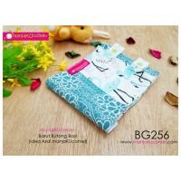 BG256-manjaKUcomel Barut Butang Bayi Bercorak
