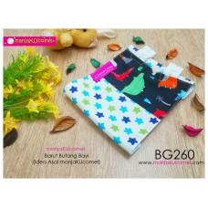 BG260-manjaKUcomel Barut Butang Bayi Bercorak