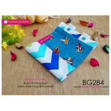 BG284-manjaKUcomel Barut Butang Bayi Bercorak