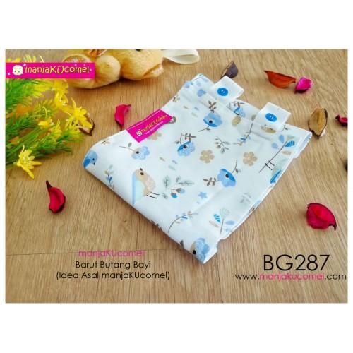 BG287-manjaKUcomel Barut Butang Bayi Bercorak