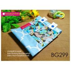 BG299-manjaKUcomel Barut Butang Bayi Bercorak