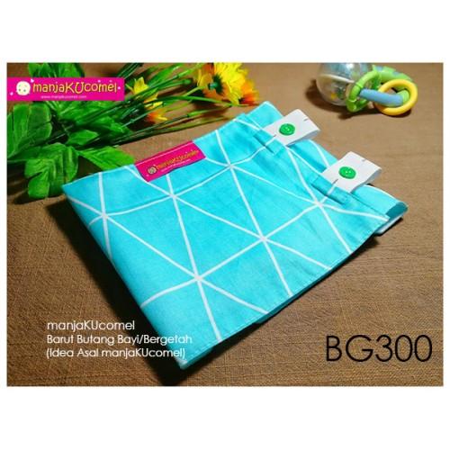 BG300-manjaKUcomel Barut Butang Bayi Bercorak