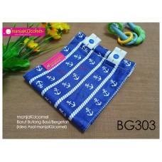 BG303-manjaKUcomel Barut Butang Bayi Bercorak