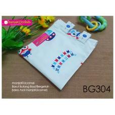 BG304-manjaKUcomel Barut Butang Bayi Bercorak