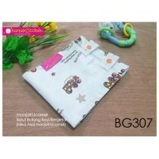 BG307-manjaKUcomel Barut Butang Bayi Bercorak