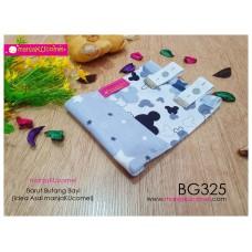 BG325-manjaKUcomel Barut Butang Bayi Bercorak