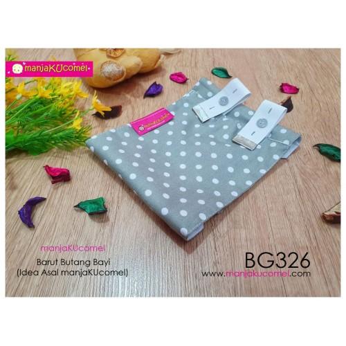BG326-manjaKUcomel Barut Butang Bayi Bercorak