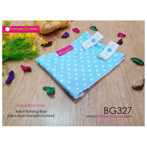 BG327-manjaKUcomel Barut Butang Bayi Bercorak
