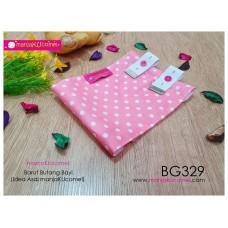 BG329-manjaKUcomel Barut Butang Bayi Bercorak